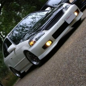 Old Picture with Carbon Fiber Hood