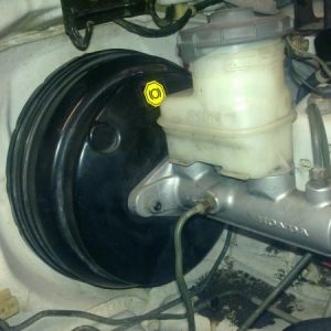 EK4 Vti brakebooster and Mastercylinder :)