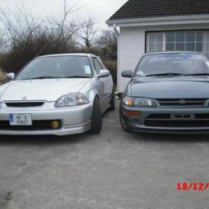 silver ek9 front
